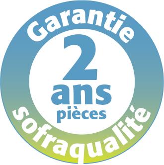 Garantie Sofraca 2 ans pièces