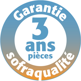 Garantie Sofraca 3 ans pièces