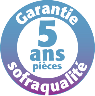 Garantie Sofraca 5 ans pièces